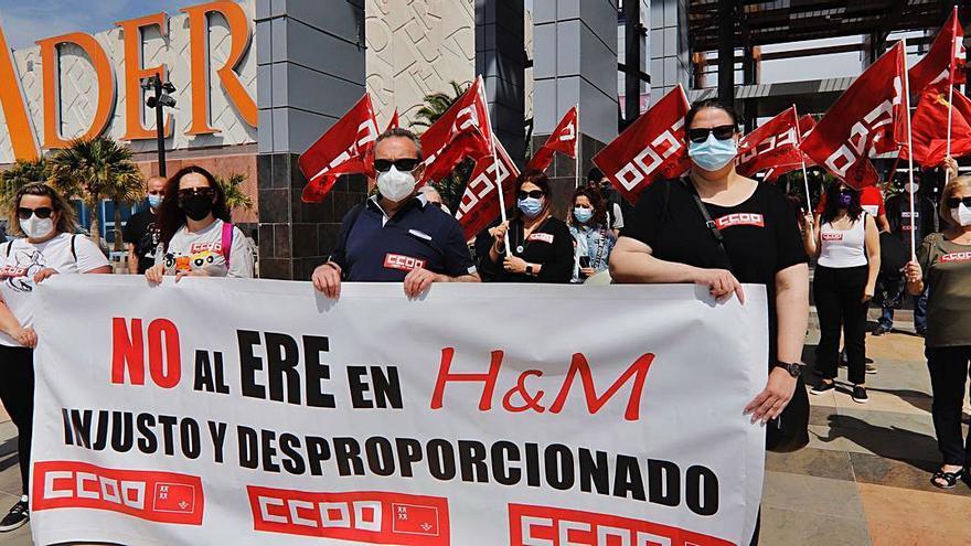 """Empleados de H&M, contra su """"ERE salvaje"""""""