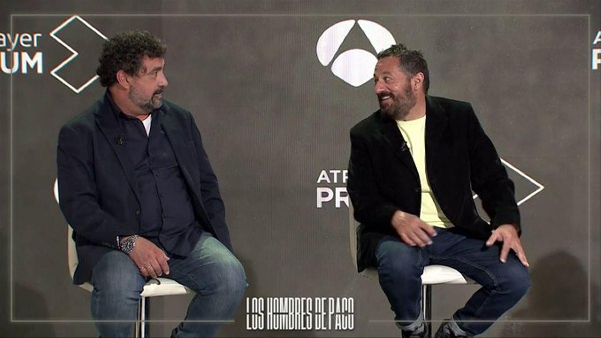Rueda de prensa de 'Los hombres de Paco'.
