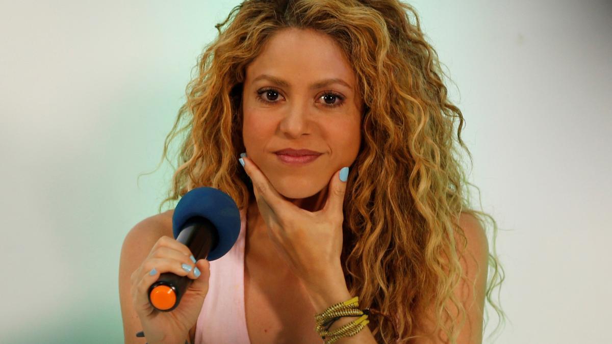Shakira en una imatge d'arxiu