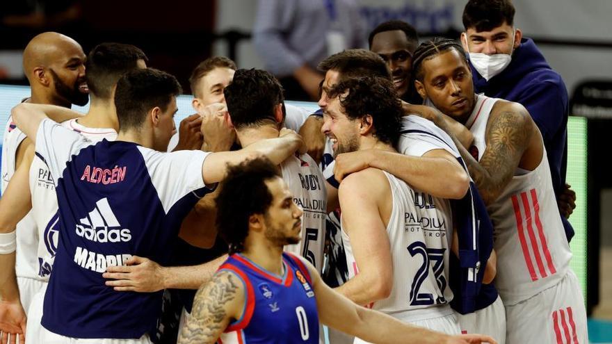 Garuba reaviva la casta de campeón del Real Madrid ante el Anadolu Efes