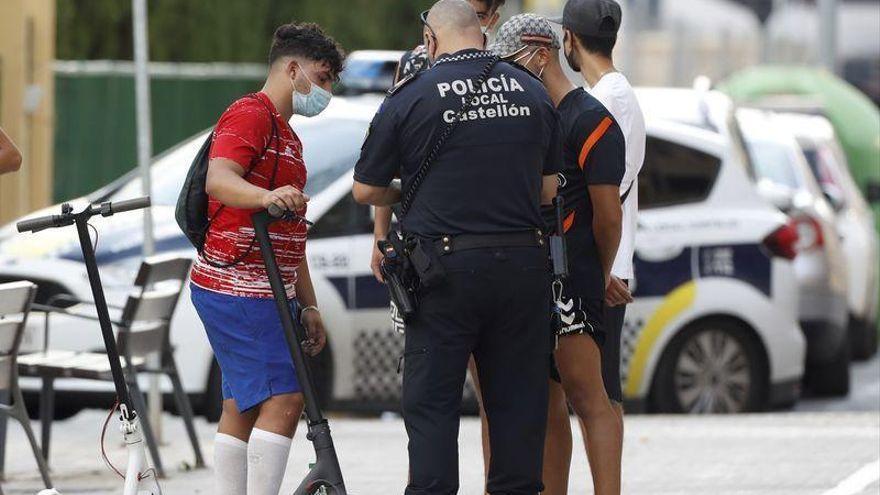 La Policía Local impone 28 denuncias en Castelló por incumplir la normativa covid