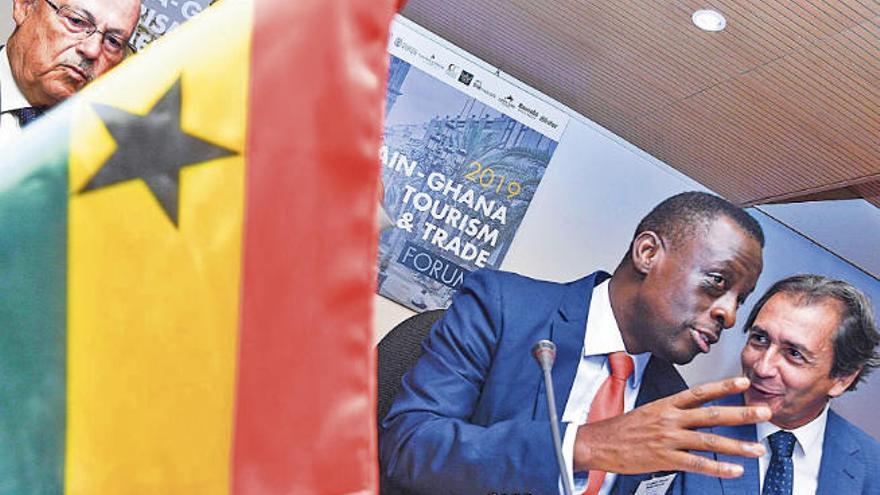 """""""En Ghana queremos replicar el turismo y la industria que hay en el Archipiélago"""""""