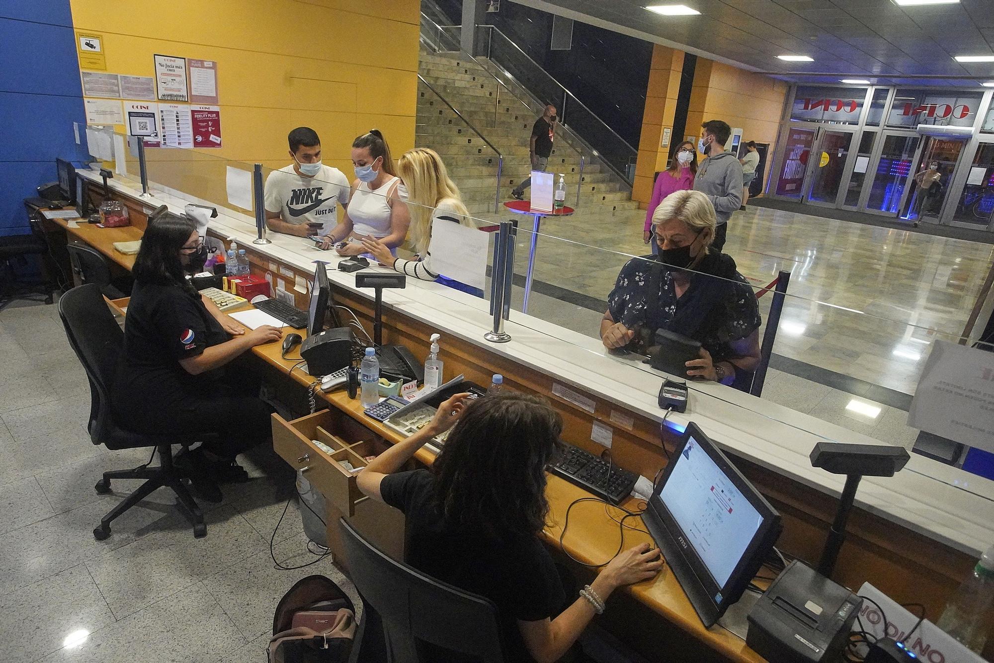 El cinema a 3'5 euros mobilitza centenars d'espectadors a Girona