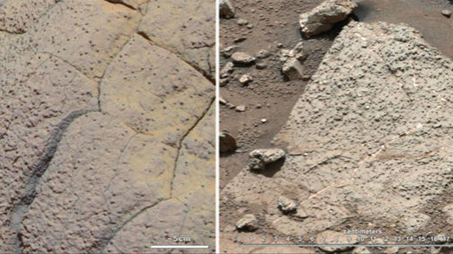 Marte pudo haber albergado vida