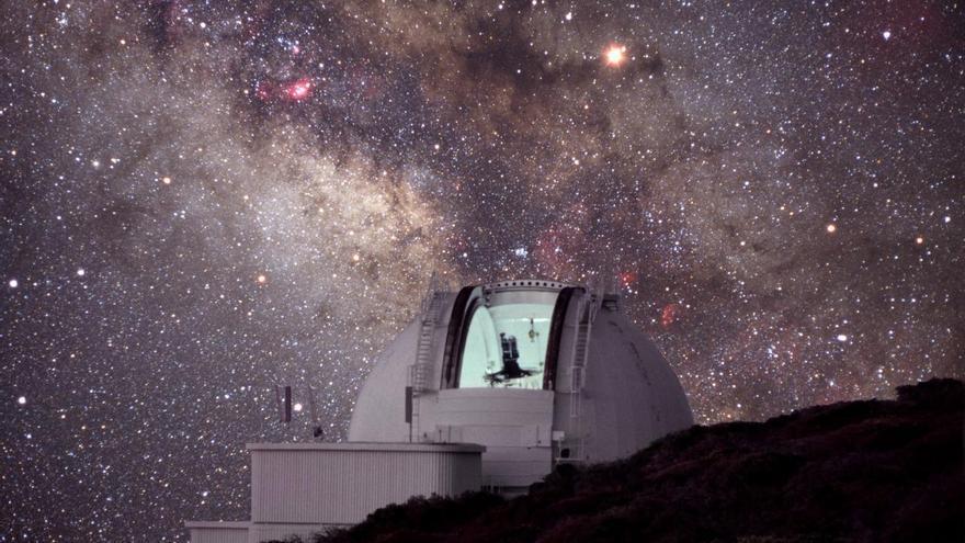 Los telescopios de La Palma echan el cierre a causa del volcán de La Palma