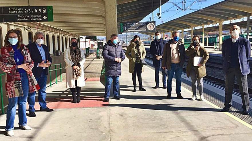 Diputados del PP, contra la supresión de las variantes ferroviarias Ourense- Lugo