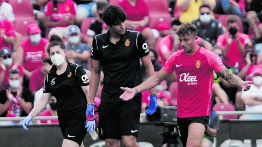 El Mallorca, azotado por las lesiones