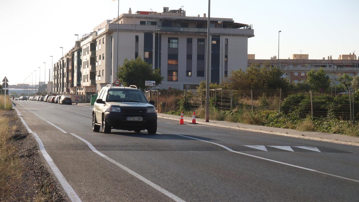La Policía Local ha controlado el tránsito durante la duración de las obras de mejora.