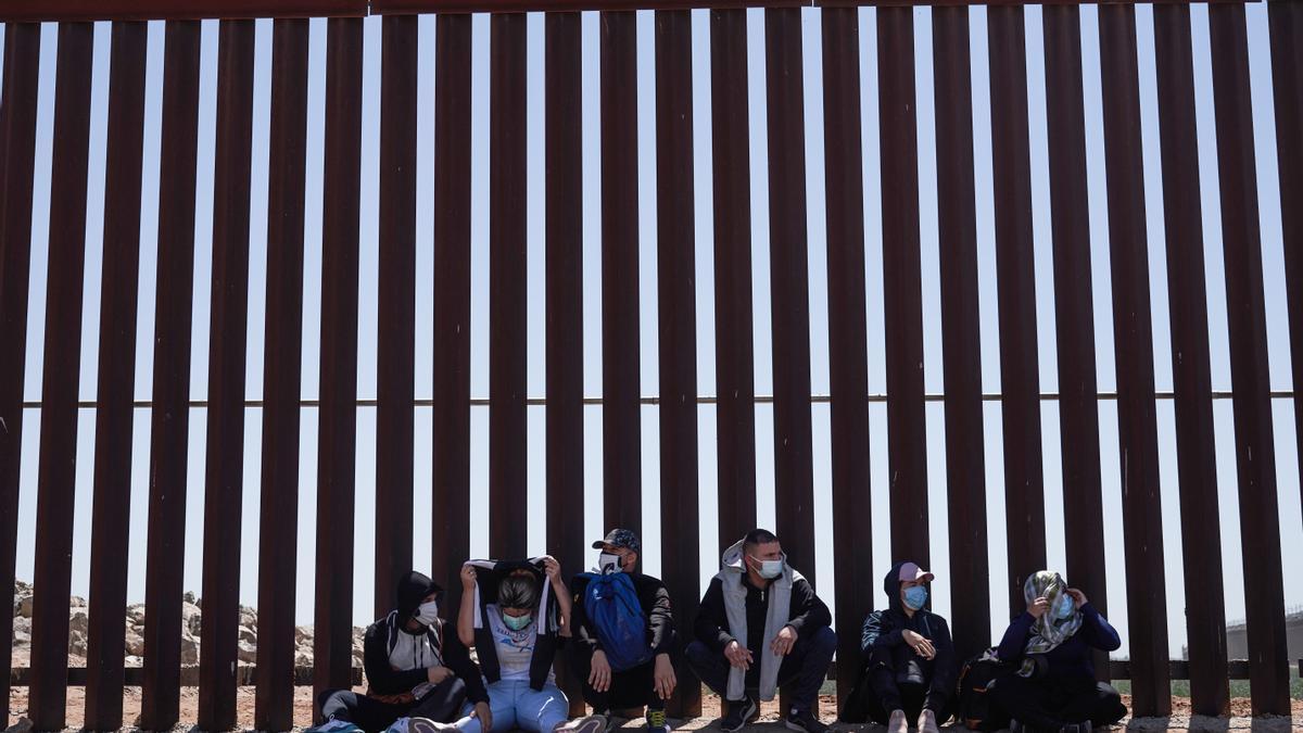 Un tramo del muro entre México y Estados Unidos