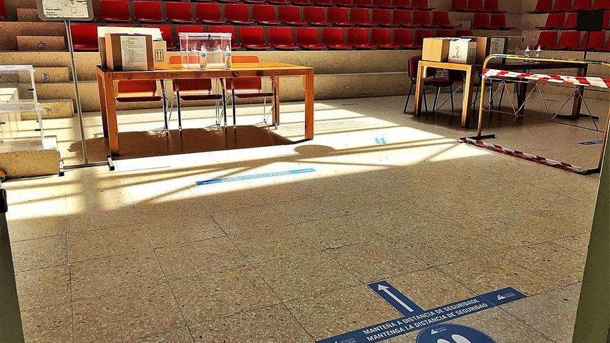 Las urnas esperan hoy a 52.018 morracenses en una jornada marcada por el calor y el virus