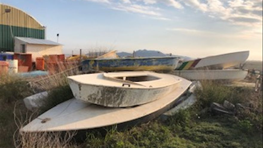 Denuncian un vertedero ilegal en el Centro de Gestión de Residuos de San Javier