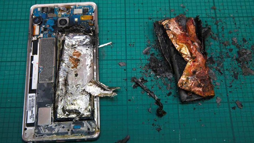 Samsung revela la causa de les explosions del Galaxy Note 7