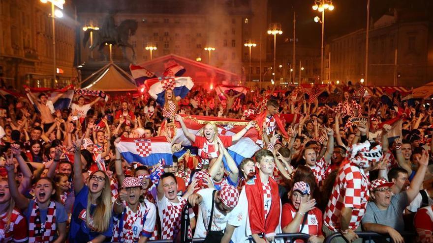 Locura croata frente a la tristeza rusa