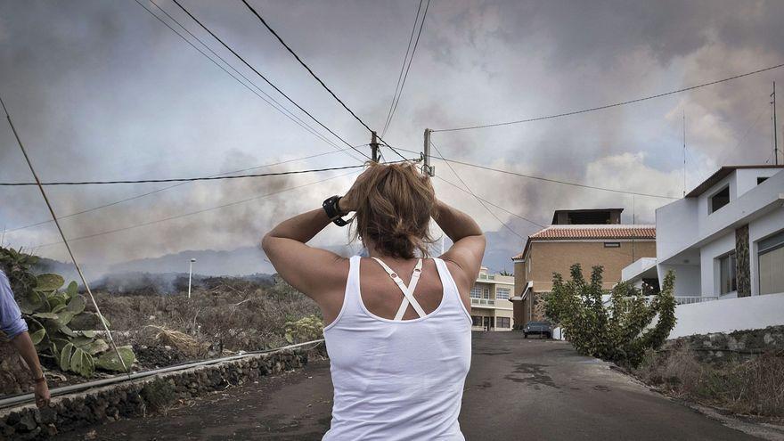 La lucha de la mente contra el volcán de La Palma