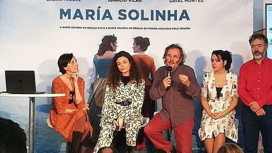 María Solinha cobra vida