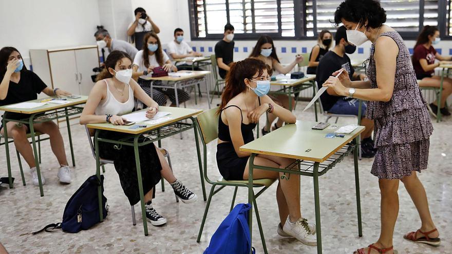 La selectividad vuelve en la primera semana de junio a las universidades