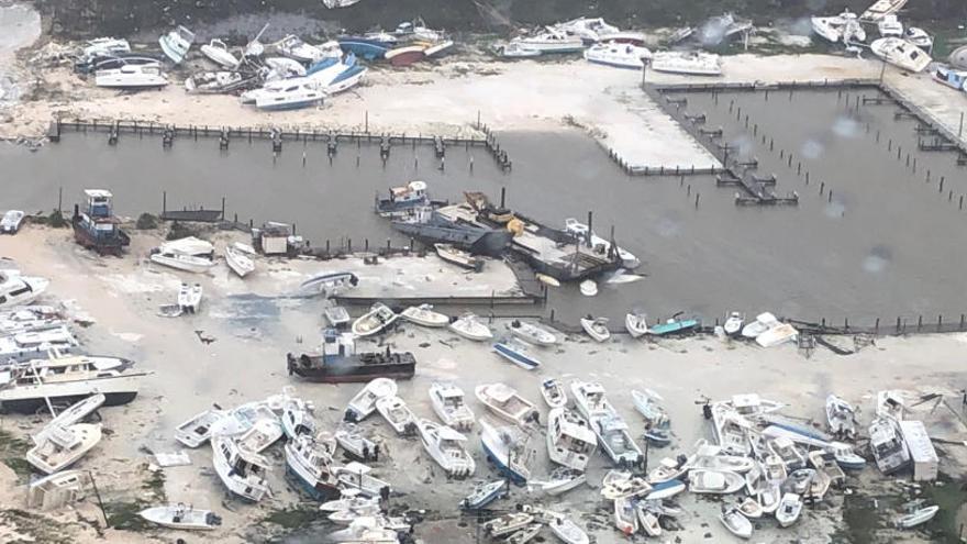 El 60% de Gran Bahama, bajo el agua tras el paso de 'Dorian'