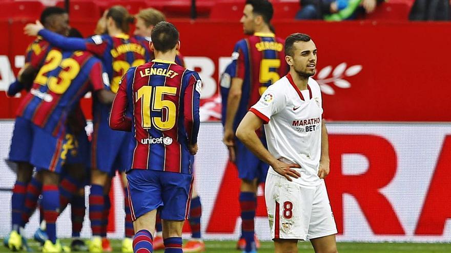 El Barça convenç a Sevilla amb un triomf per seguir viu a la Lliga