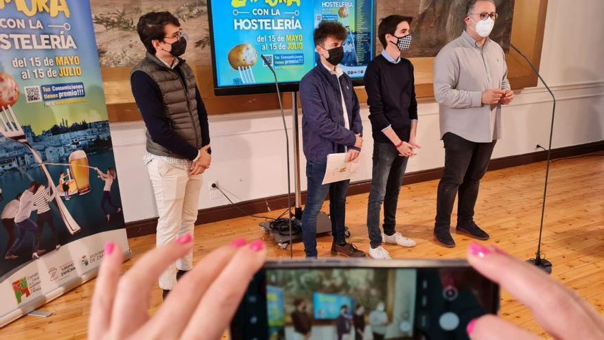 El Consejo Local de la Juventud de Zamora celebra una gala dentro de su campaña de apoyo a la hostelería