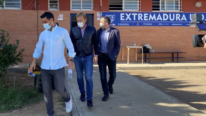La plantilla del Extremadura UD anuncia huelga