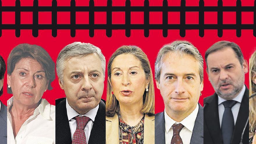 El plan de vías de Gijón, a por su séptimo ministro