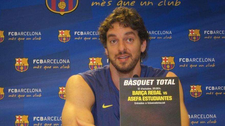 El Barça confía en cerrar a Pau Gasol antes del miércoles