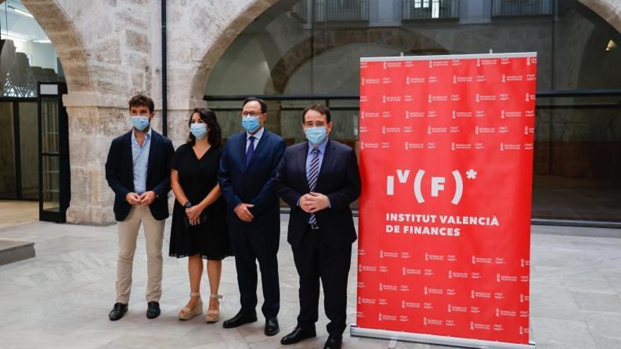 El IVF toma posesión de la antigua sede de la Bolsa
