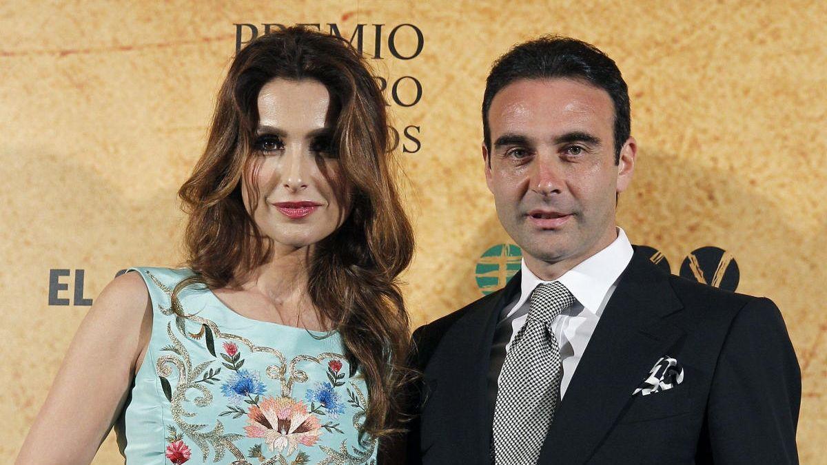 Enrique Ponce y Paloma Cuevas, juntos de nuevo. ARCHIVO
