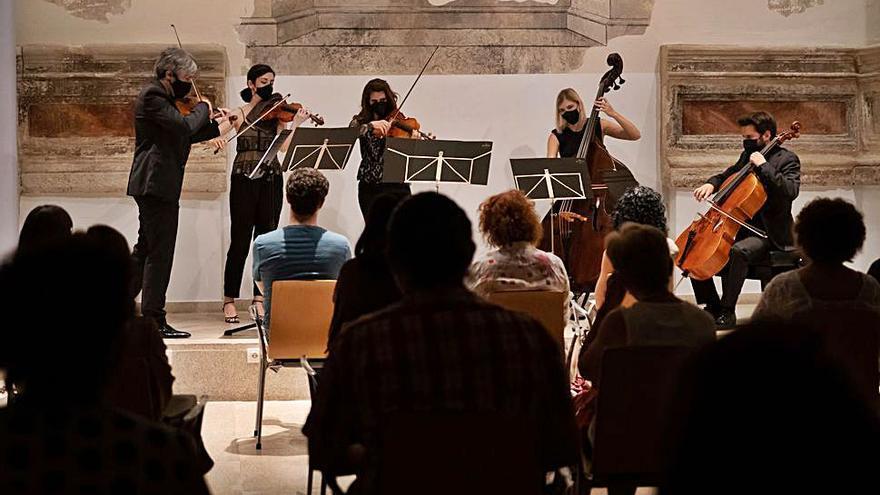 El Ensemble Praeteritum ofrece un concierto en la Biblioteca Pública de Zamora