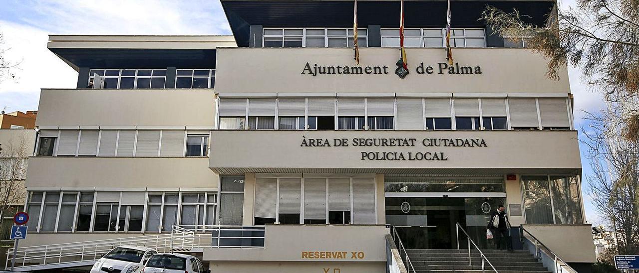 Cuartel de la Policía Local de Palma de Sant Ferran.