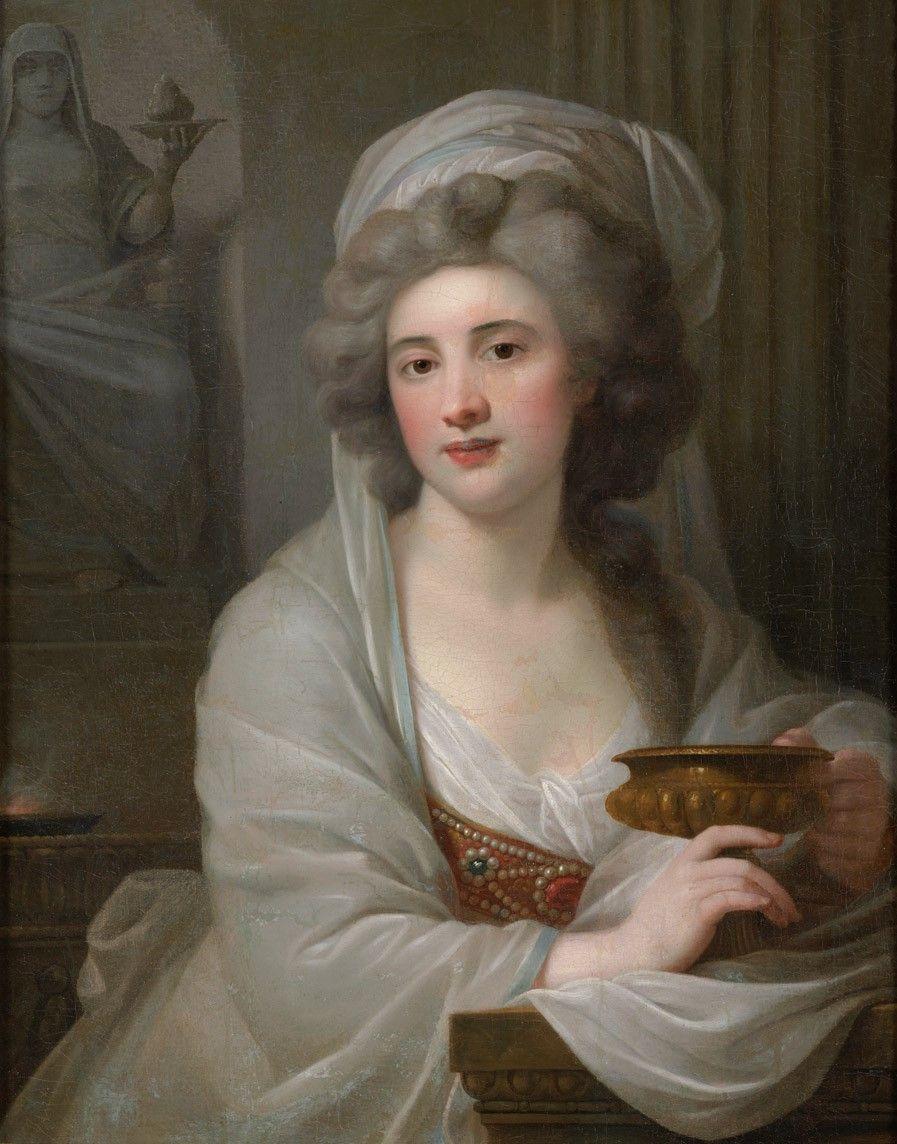 Giovanni Battista Lampi, Retrato de la Condesa Sophie de Witt, luego Potocka, como vestal.jpg
