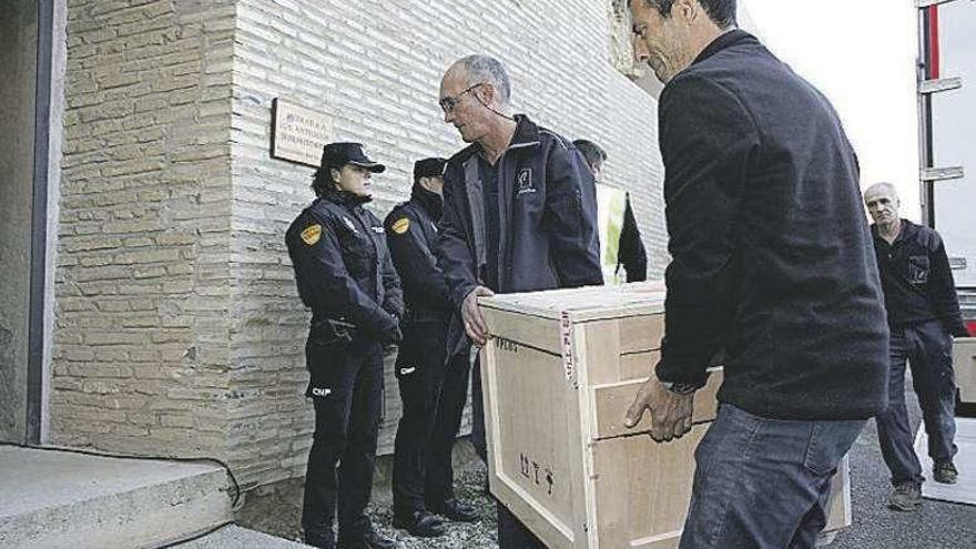 La Generalitat presentará hoy dos recursos por los bienes de Sijena ante el Supremo