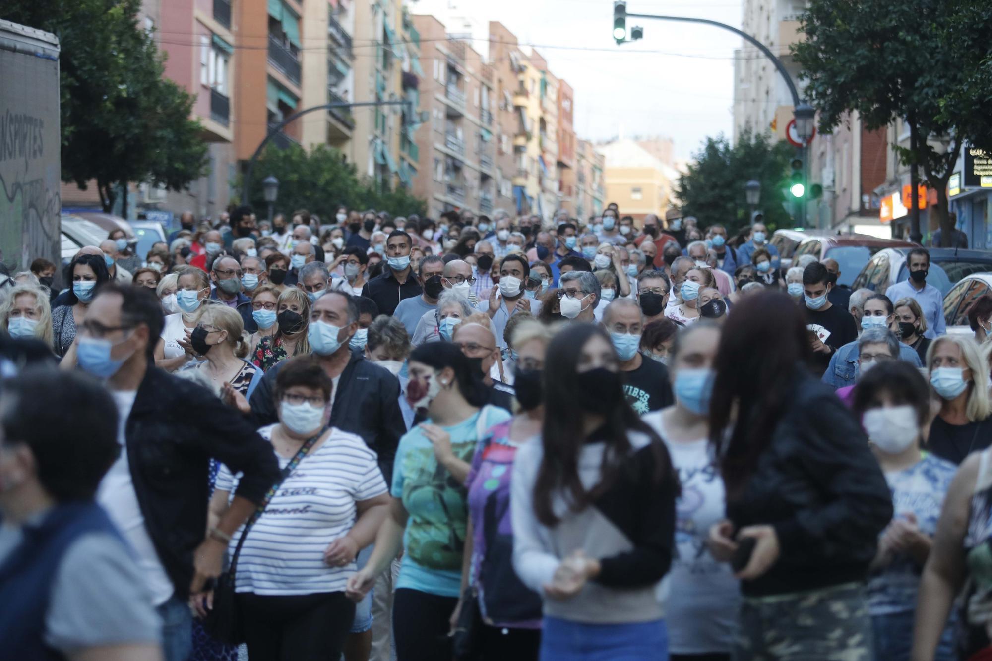 Orriols dice basta a la inseguridad en sus calles