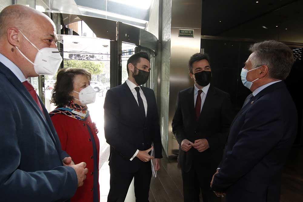 Sánchez Zamorano en los desayunos de Diario Córdoba