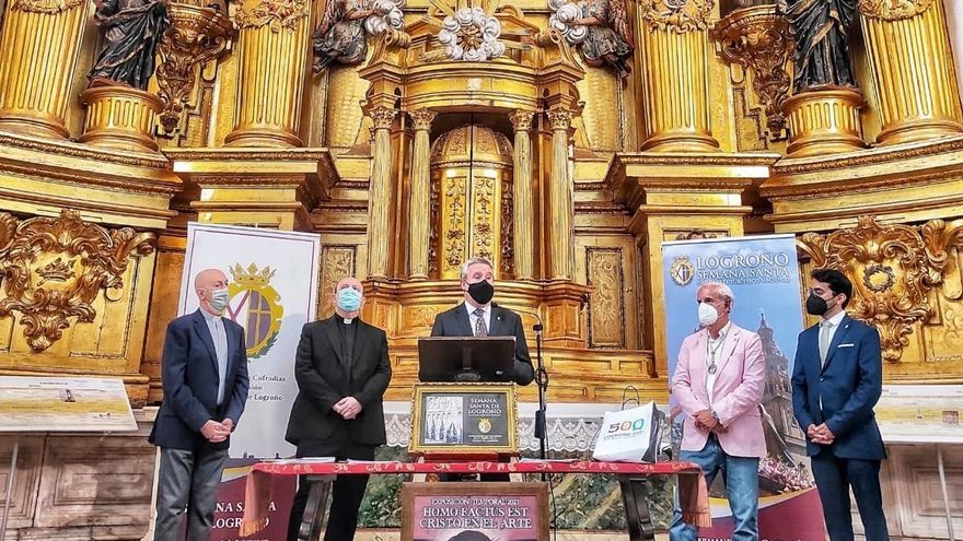 Encuentro de las cofradías de Logroño y Cáceres