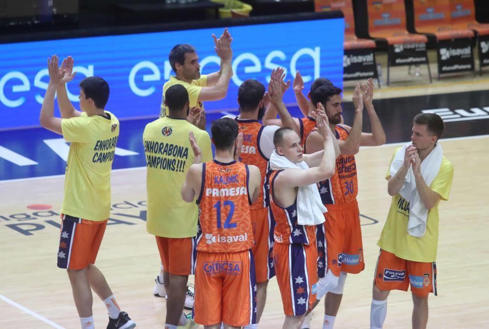Valencia Basket Club vs TD Systems Baskonia . PlayOff