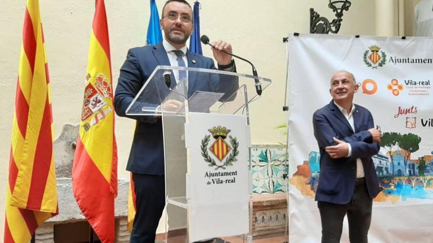 Valverde deja el Ayuntamiento de Vila-real y le sucederá Xus Madrigal como edil de Servicios Públicos
