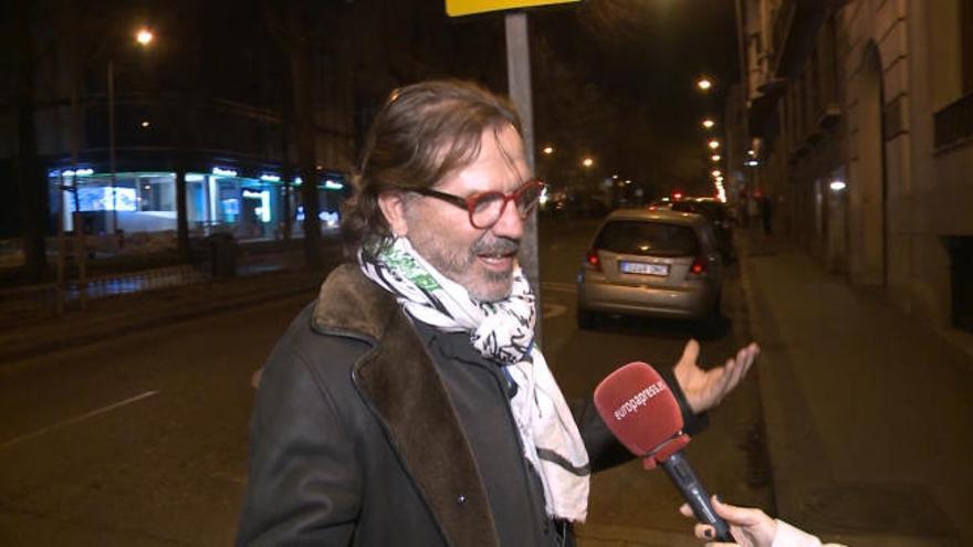 Pepe Navarro revive sus temores ante la justicia