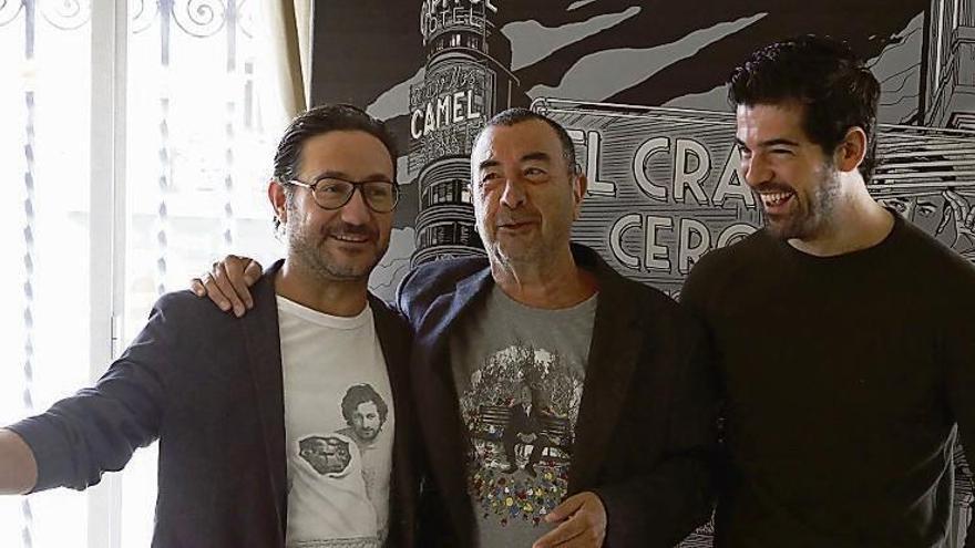 """Garci vuelve a empezar con """"El crack"""""""