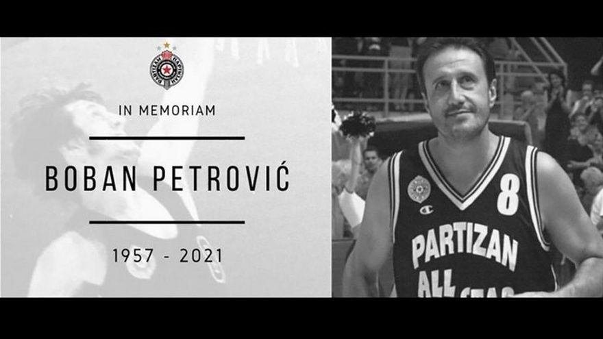 Mor Boban Petrovic, jugador del TDK Manresa la temporada 89/90