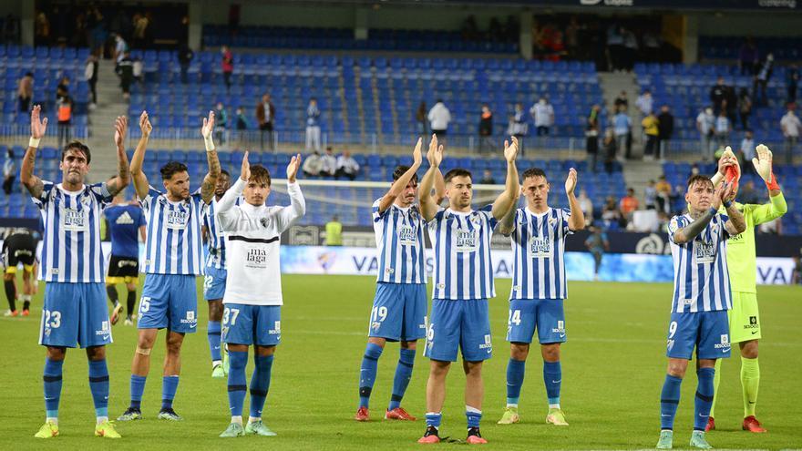 Así ha jugado el Málaga ante el Zaragoza