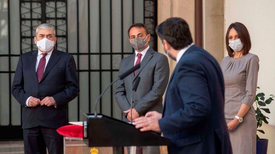 El Pacto Antitransfuguismo concluye que López Miras y los cuatro diputados de Cs son tránsfugas