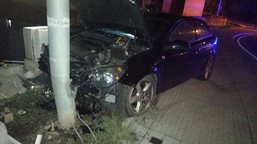 Betrunkene Fahrerin auf Mallorca begeht Unfallflucht und verursacht Gasaustritt