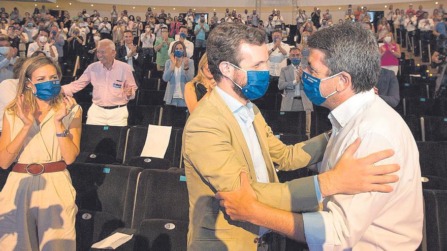 La agenda política convierte a València en el epicentro de la batalla entre bloques