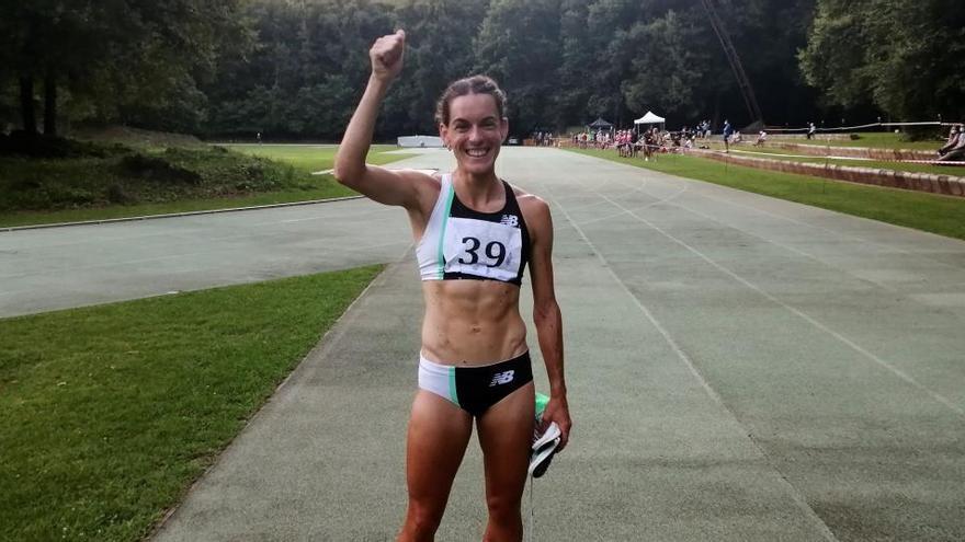 Esther Guerrero bate el récord de España de 2.000 metros