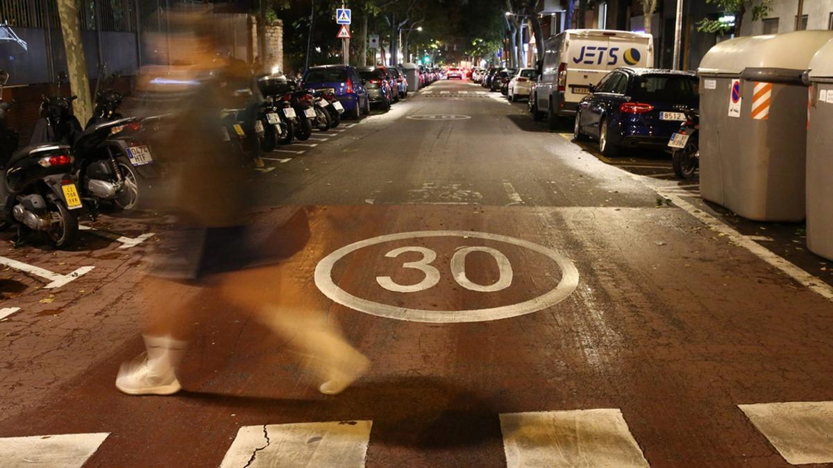 El 70% de las calles de España se limitan a 30 km/h