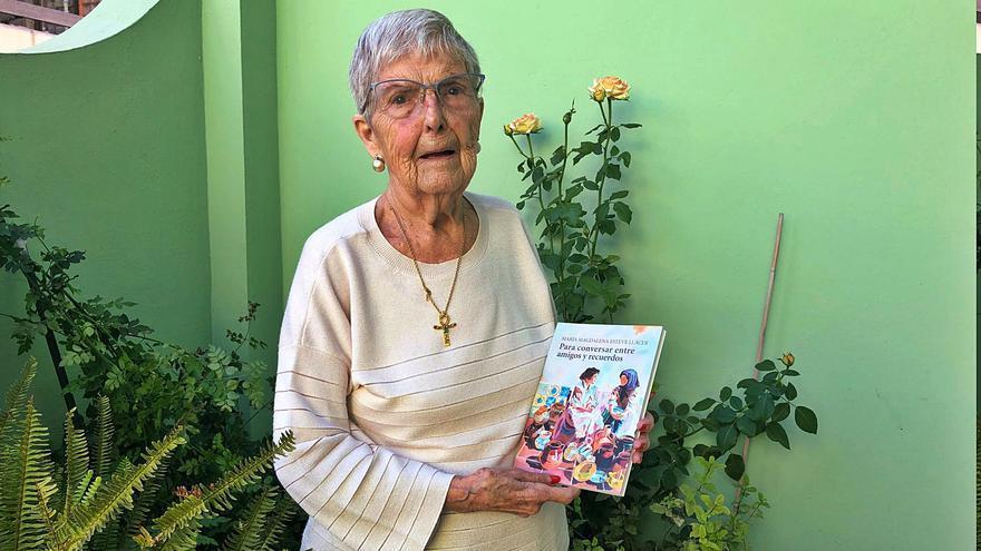 La dama centenaria que escribe sus memorias
