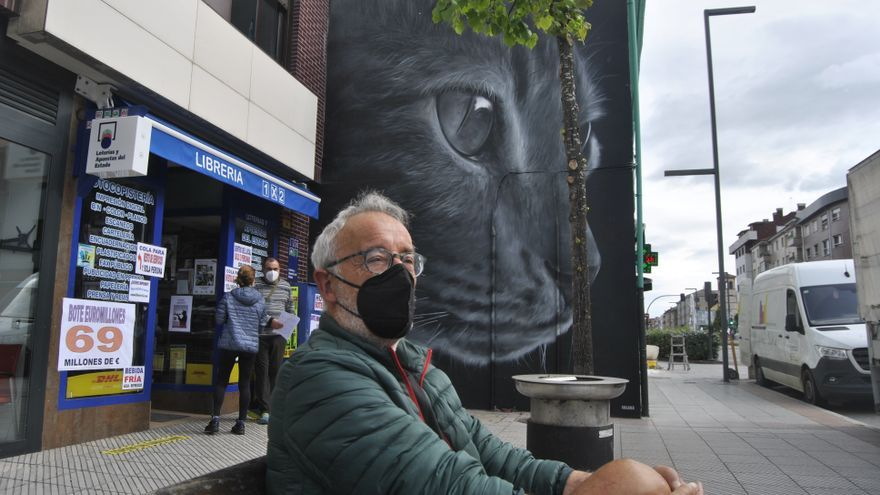 Los grafitis que le cambian la fachada a Siero