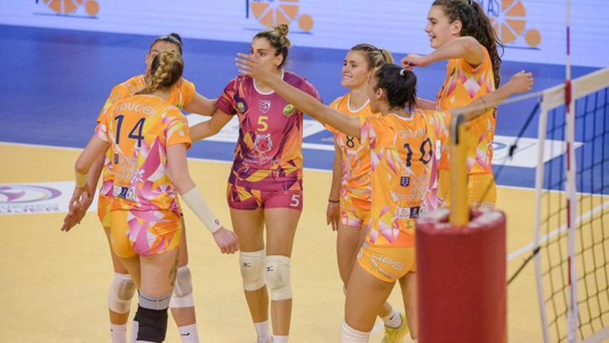 El CV 7 Palmas pasa por primera vez a la final de la Copa de la Reina