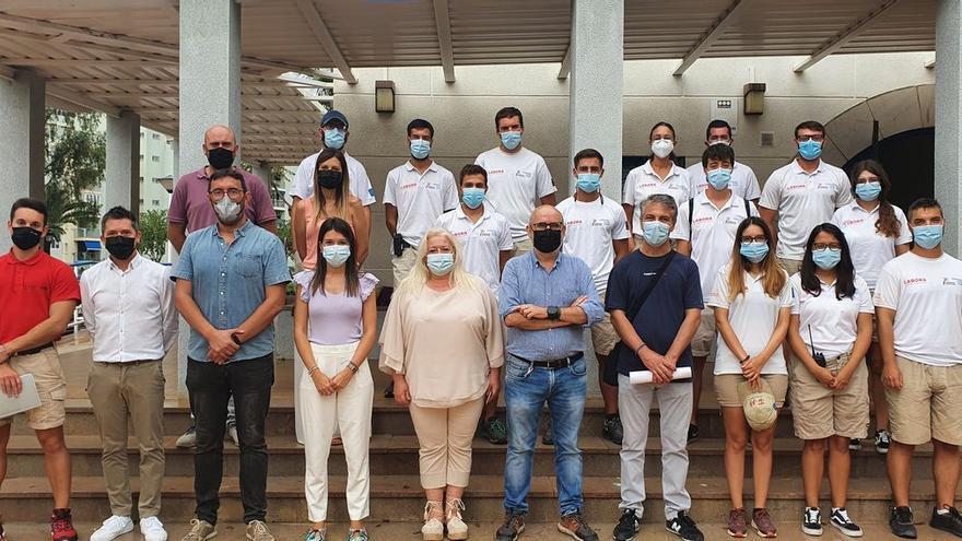 Concluye el servicio de 34 informadores de playas en Orpesa
